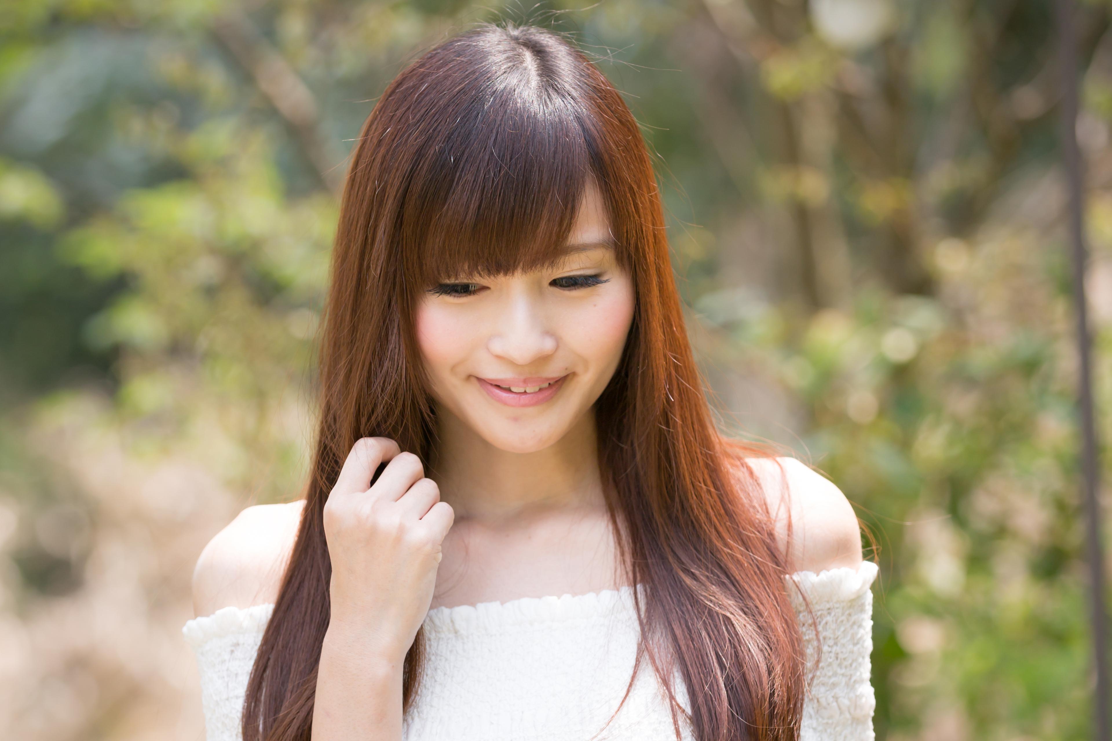 ふんわり艶髪クオライン縮毛矯正☆