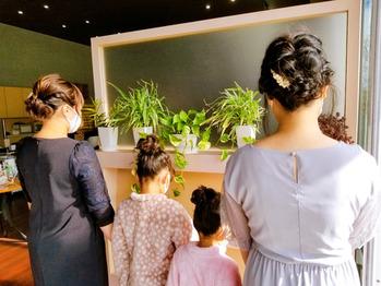 結婚式ヘアセット 美容室ル・レーヴ船越店